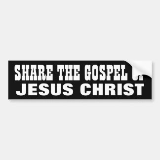 Share the Gospel Bumper Sticker