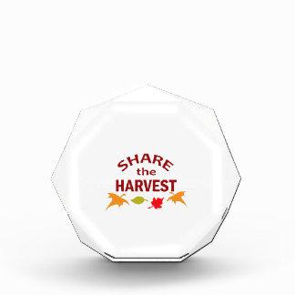 SHARE THE HARVEST AWARD