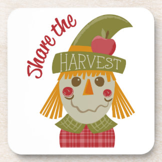 Share The Harvest Drink Coaster