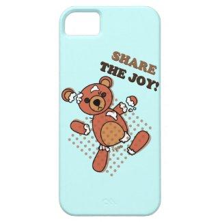 Share the Joy Broken Bear Doll iPhone 5 Case