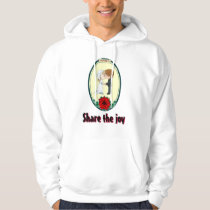 Share the joy - Kissing couple Hoodie
