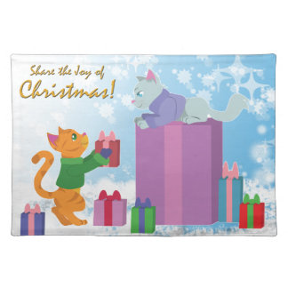 Share The Joy of Christmas! Cloth Placemat