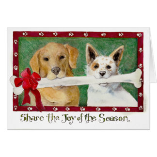 Share the Joy of the Season Greeting Card