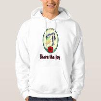 Share the joy, wedding hoodie