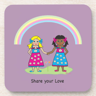 Share the Love - Equality for All Beverage Coaster