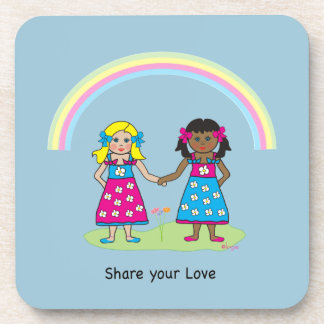 Share the Love - Equality for All Drink Coaster