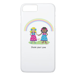 Share the Love - Equality for All iPhone 7 Plus Case