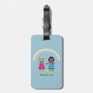 Share the Love - Equality for All Luggage Tag