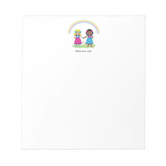 Share the Love - Equality for All Notepad