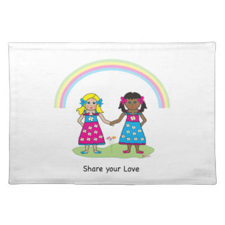 Share the Love - Equality for All Placemat