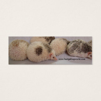Share the love! mini business card