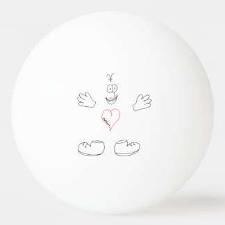 Share the Love Ping Pong ball