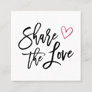 Share the Love | Referral