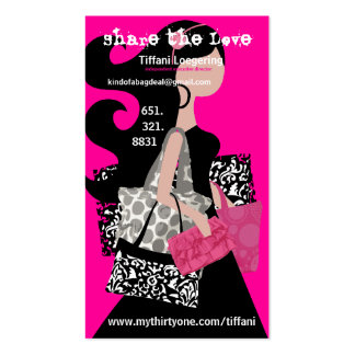 Share the love referral card Double-Sided standard business cards (Pack of 100)