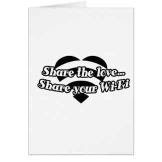 Share The Love, Share Your Wi-Fi Card