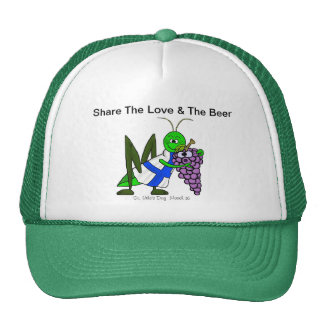 Share The Love & The Beer St. Urho Cap or Hat