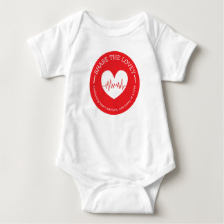 Share The Lovey infant circle logo Baby Bodysuit