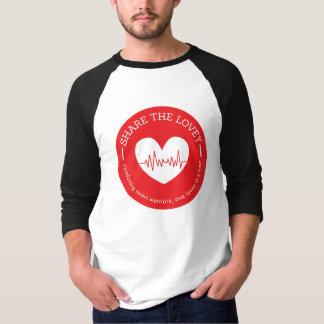 Share The Lovey Mens Raglan Shirt