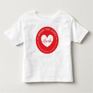 Share The Lovey Toddler Circle Logo Toddler T-shirt