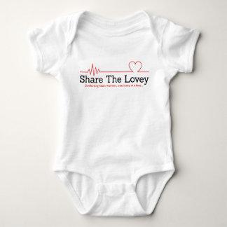 Share The Lovey unisex infant Baby Bodysuit