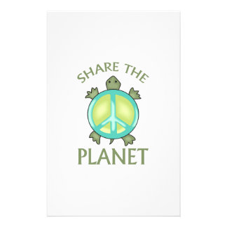 SHARE THE PLANET STATIONERY