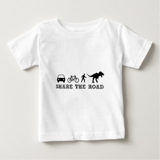 Share the Road Baby T-Shirt