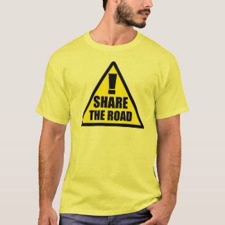 Share The Road - Bicycle Shirt