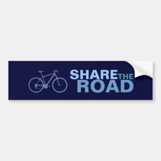 share the road ~ bikers bumper stickers