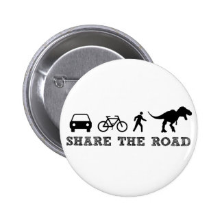 Share the Road Pinback Button
