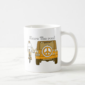 Share The Road Coffee Mug