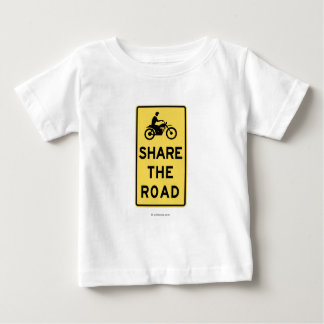 Share the road infant t-shirt