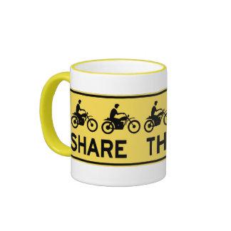 Share the road mugs