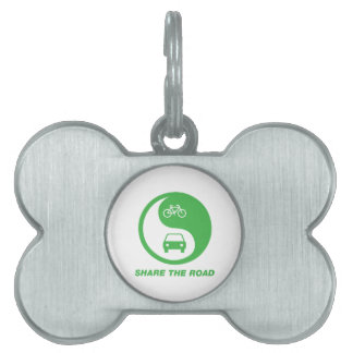 Share the Road Pet Tag