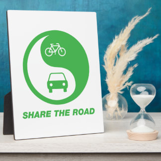 Share the Road Plaque