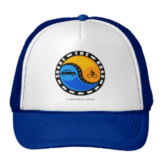 SHARE THE ROAD TRUCKER HAT
