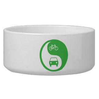 Share the Road Yin Yang Bowl