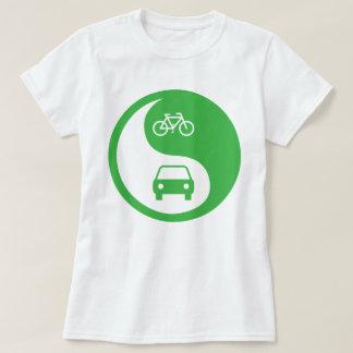 Share the Road Yin Yang T-Shirt