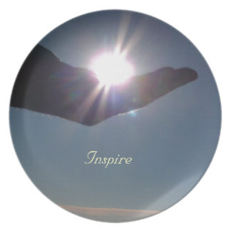 Share the sunshine, hope and inspiration! plates