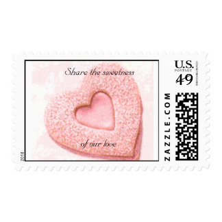 Share the sweetness of our love-Wedding Postage