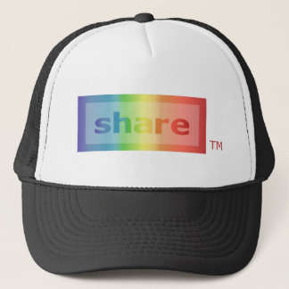 share trucker hat