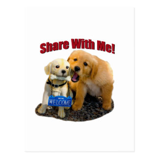 Share With Me Postcard