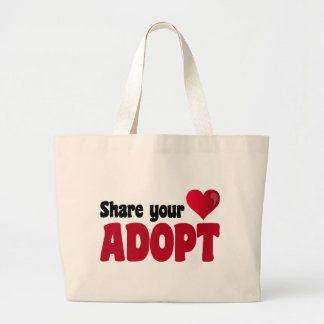 Share Your Heart Adopt Tote Bag
