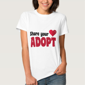 Share Your Heart Adopt T-shirt