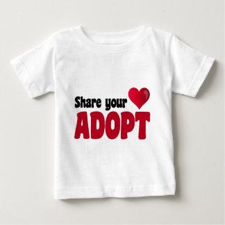 Share Your Heart Adopt Tee Shirt