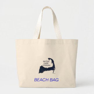 Share your love of Cape Cod with humor. Large Tote Bag