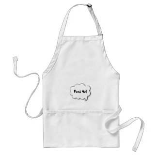 Share Your Thoughts Adult Apron