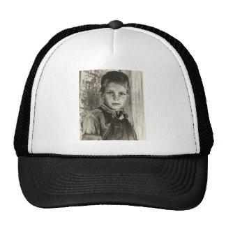 Sharecropper's son – 1937 mesh hat