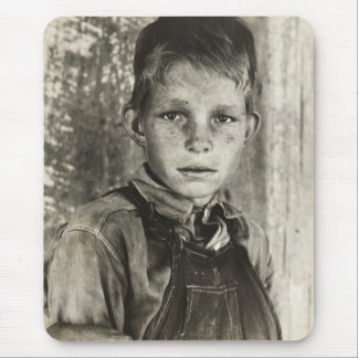 Sharecropper's son – 1937. mouse pads