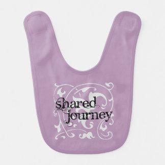 """""""Shared Journey"""" Baby Bib"""