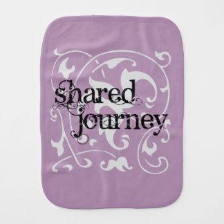 """Shared Journey"" Burp Cloth"